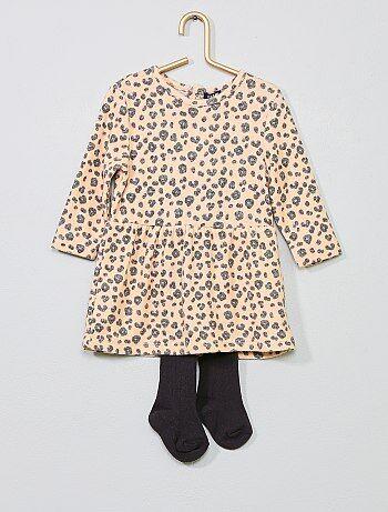 Completino abito + calzamaglia - Kiabi