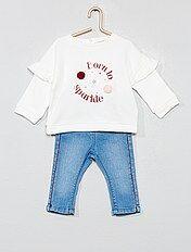 comprare on line b5b62 31b41 Abbigliamento bebè | Kiabi