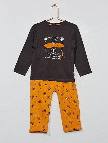 Completino maglia + pantaloni - Kiabi