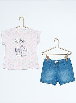 Completino maglietta + pantaloncini 'Minnie'