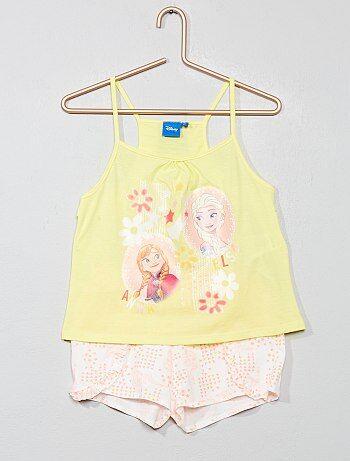 e03a3e95598e21 Bambina 3-12 anni - Completino pantaloncini + top 'Elsa' - Kiabi