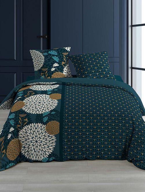 Completo letto 2 piazze                             blu marine