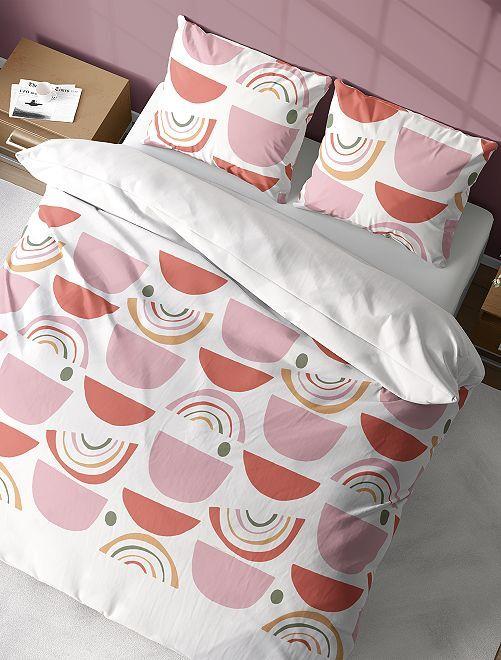 Completo letto 2 piazze                             rosa chiaro