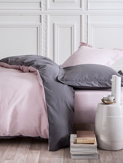 Completo letto double face 2 piazze                             ROSA