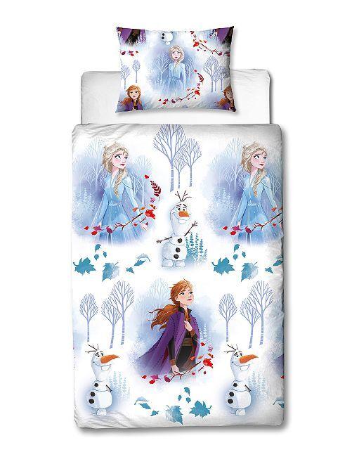 Completo letto 'Frozen' 1 piazza                             bianco