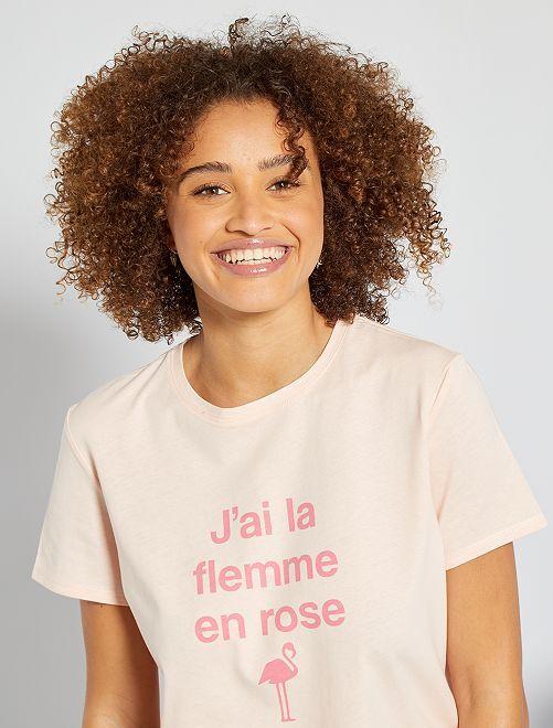 Completo pigiama                     ROSA