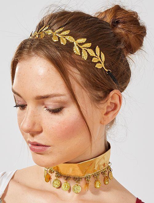 Corona di alloro                             dorato