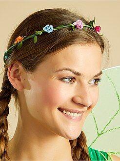 Travestimenti donna - Corona di fiori