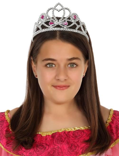 Corona principessa                             argento Bambini