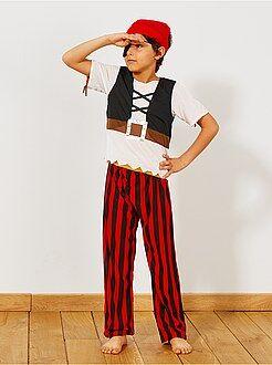 Travestimenti bambini - Costume 3 in 1 pirata, indiano e cowboy