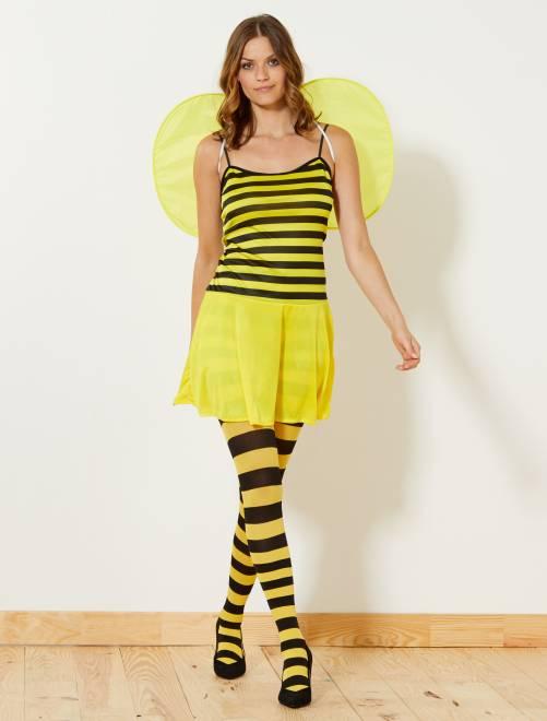 Costume ape giallo/nero Donna