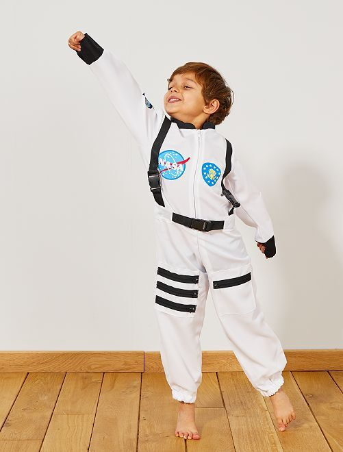 Costume astronauta                             bianco Bambini