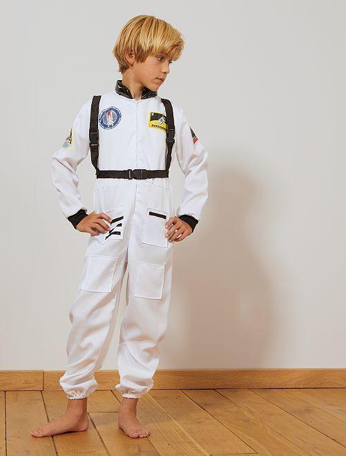 Costume astronauta                             bianco/nero Bambini