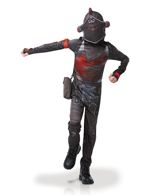 Costume 'Black Knight Fortnite'                             nero