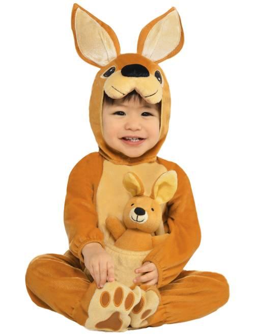 Costume canguro                             marrone Bebè