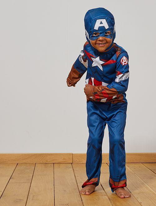 Costume 'Capitan America'                             blu/rosso