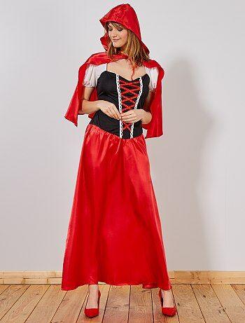 Costume Cappuccetto Rosso donna - Kiabi