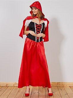 Donna Costume Cappuccetto Rosso donna