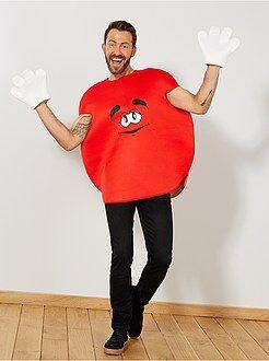 Uomo Costume caramella rotonda