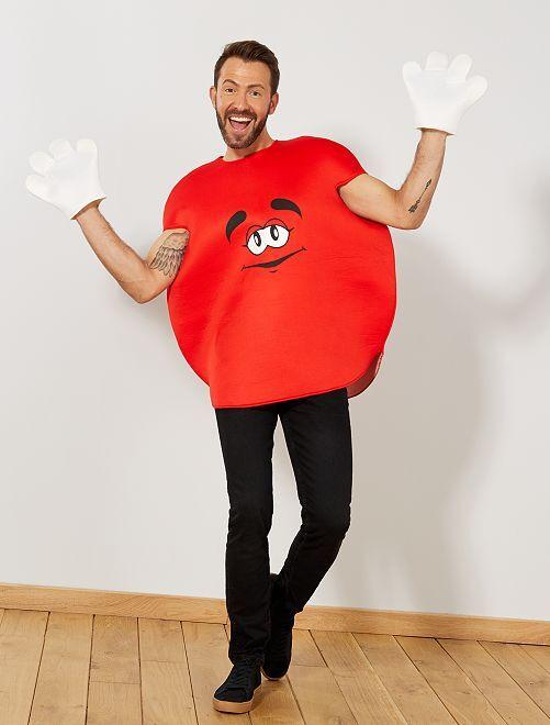 Costume caramella rotonda                                         rosso