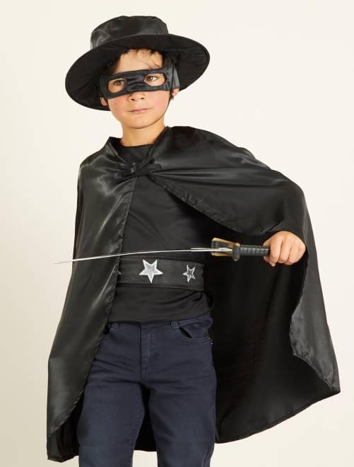 Costume cavaliere nero                             nero