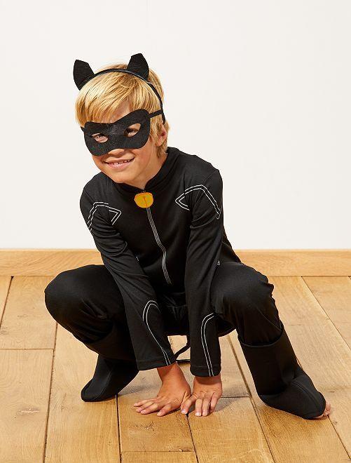 Costume 'Chat noir' di 'Miraculous'                             nero