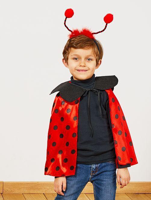 Costume coccinella                             rosso/nero