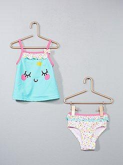 Costumi da bagno, spiaggia - Costume da bagno 2 pezzi 'Petit Beguin' - Kiabi