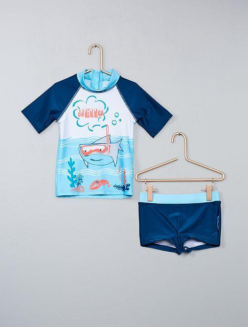 Costume da bagno anti uv 39 petit beguin 39 infanzia bambino - Costume da bagno bambino ...