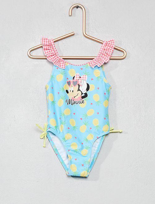 Costume da bagno intero 39 minnie 39 neonata rosa kiabi 12 00 - Costume intero da bagno ...