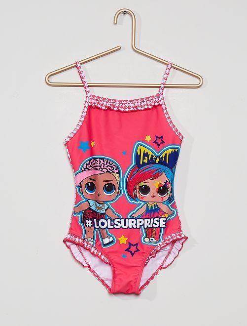 Costume da bagno 'LOL Surprise!'                                         fucsia