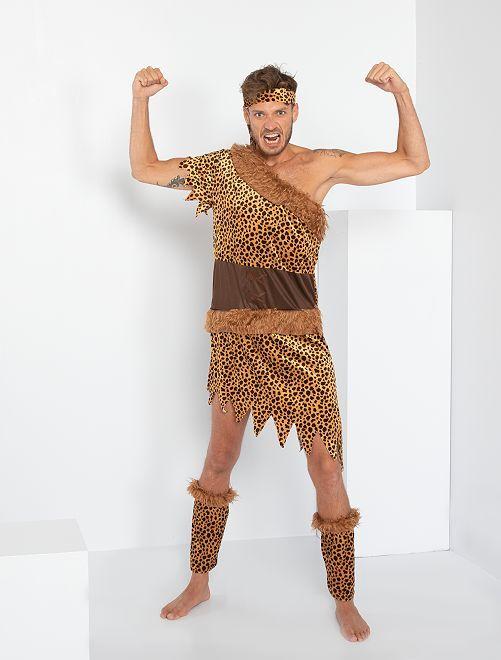 Costume da cavernicolo                             marrone