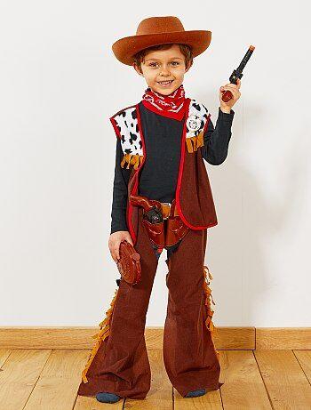 Costume da cowboy                             marrone Bambini