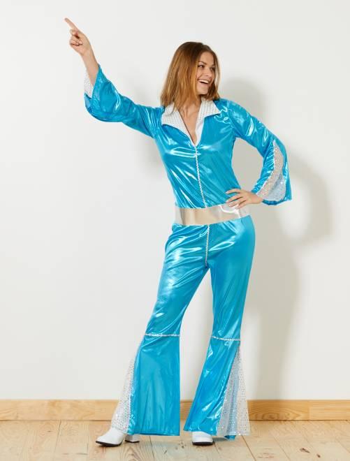 Costume da disco                             blu