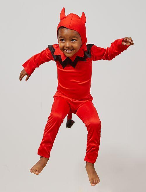 Costume da donna diavolo                             rosso