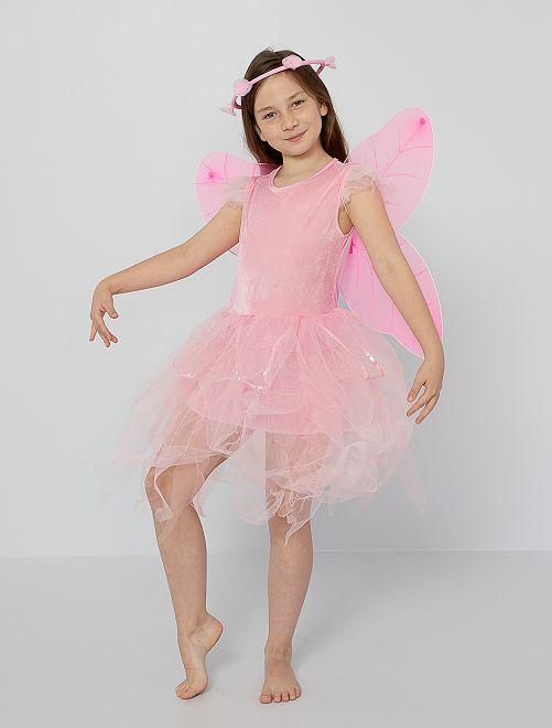 Costume da fata                             rosa