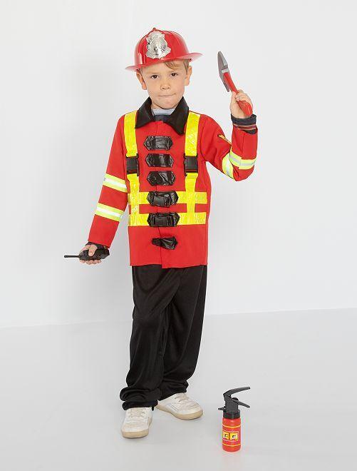 Costume da pompiere                             rosso