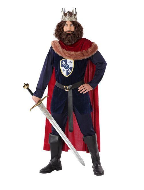Costume da re medievale                             BLU
