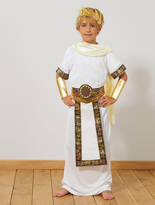 Costume da romano                             BIANCO