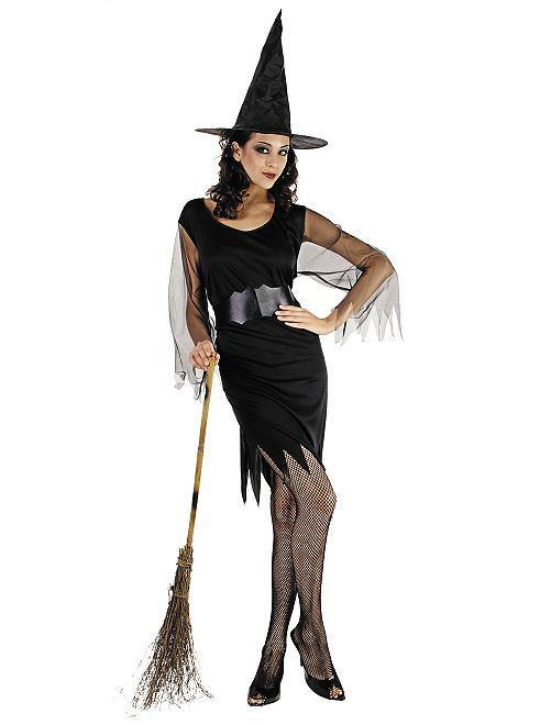 Costume da strega                             nero