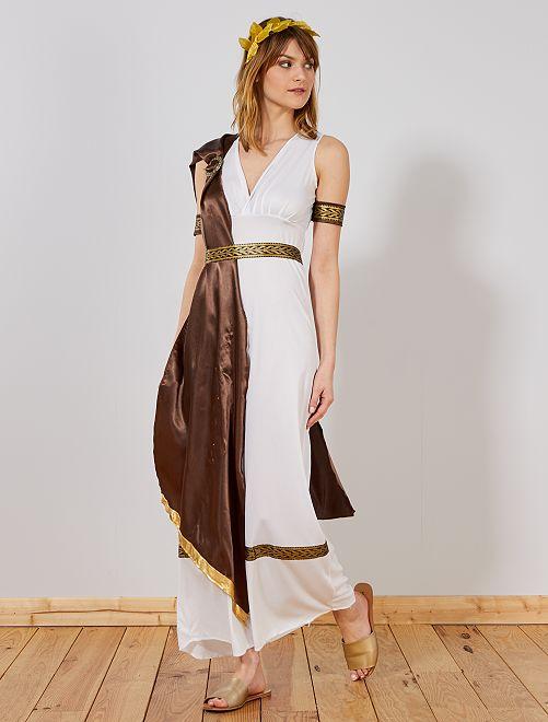 Costume Dea greca                             bianco