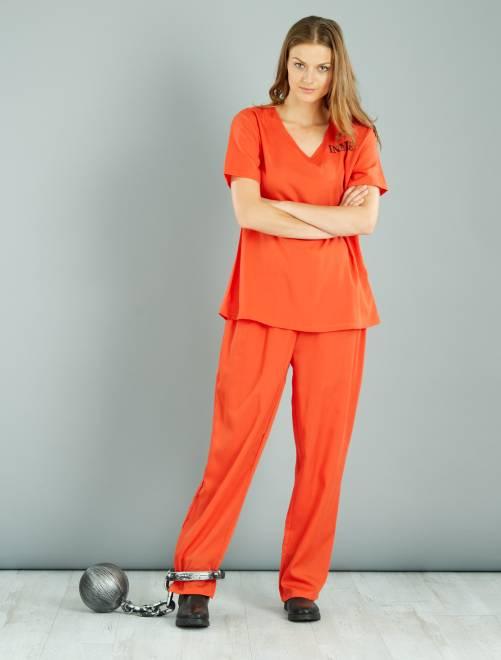 Costume detenuta                             arancione