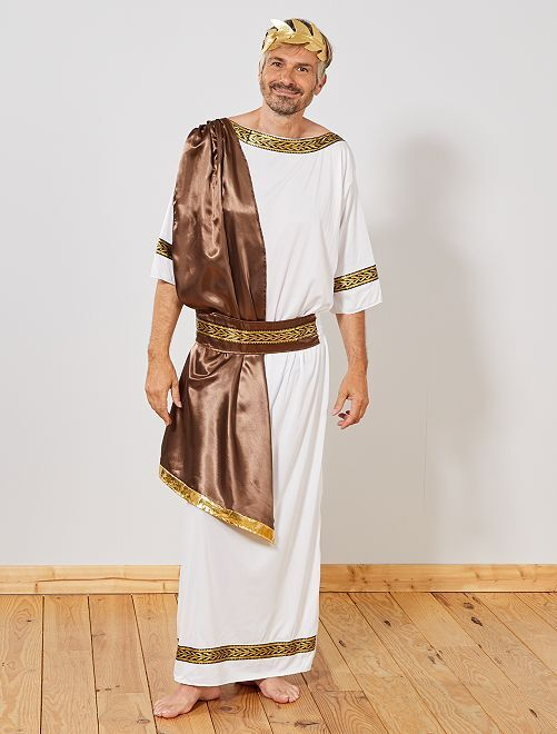 Costume dio greco                             BIANCO