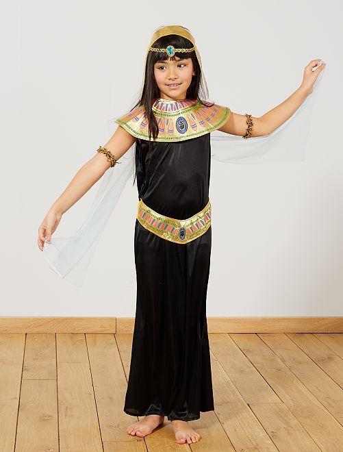 Costume egiziana                             nero Bambini