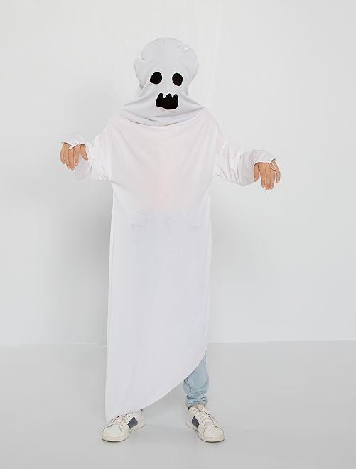Costume fantasma                             bianco Bambini