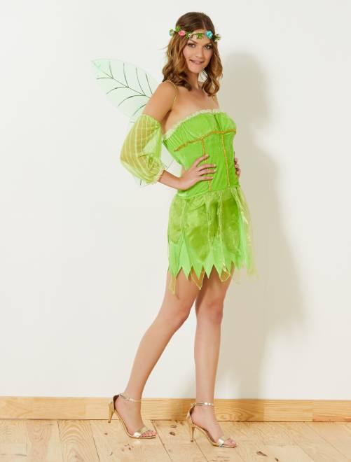 Costume fata verde                             verde