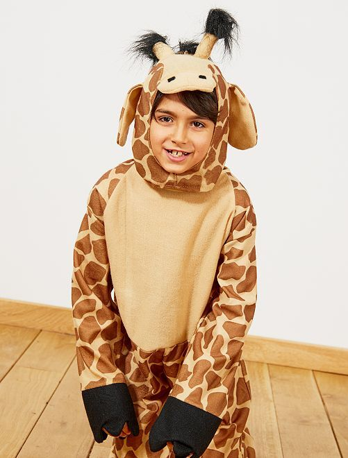 Costume giraffa                             marrone