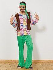 reputable site 71b5c d0525 Vestiti hippies uomo: costumi, gilet, parrucche ...