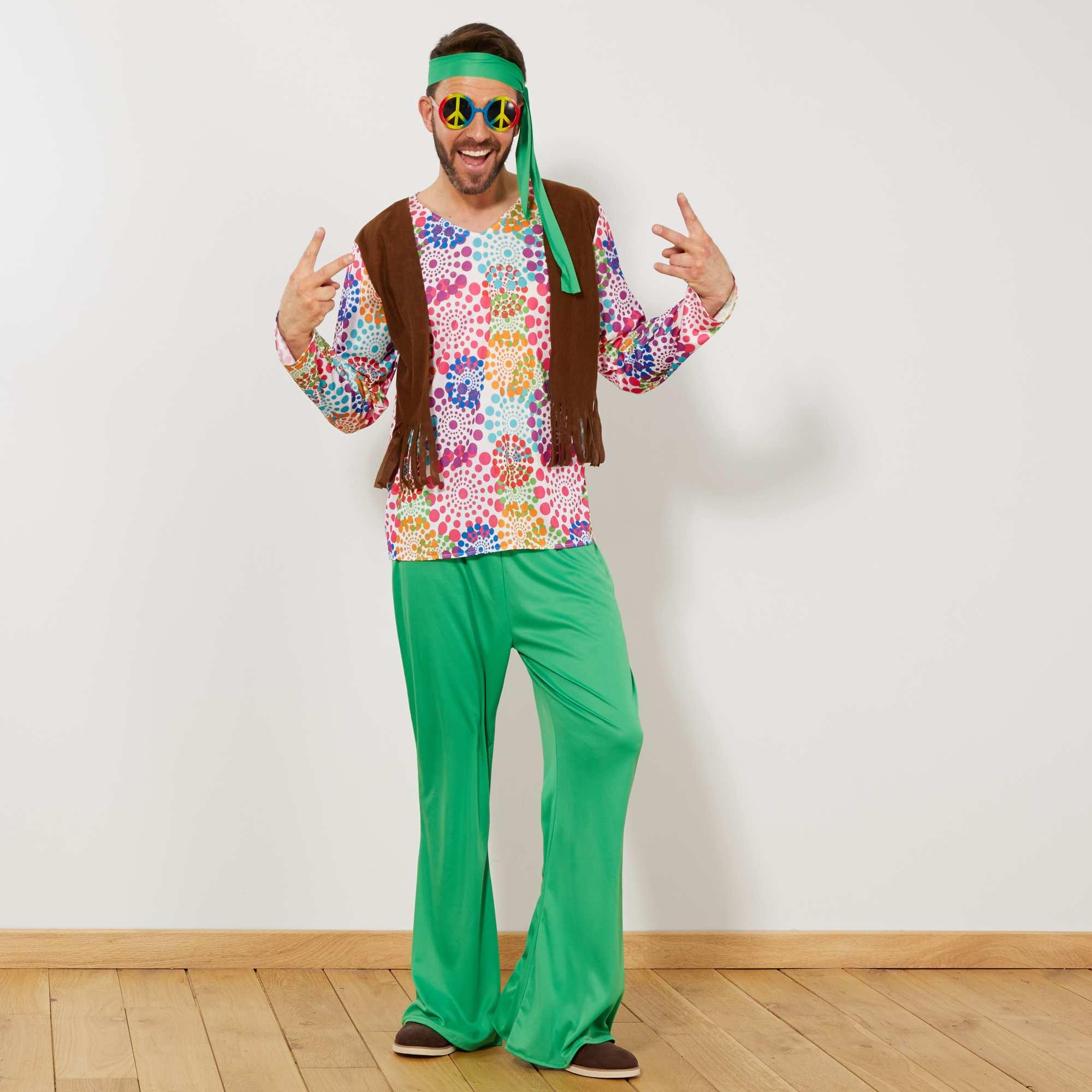 27b0e0d4190b Costume Hippy Uomo   Costume Uomo L Hippy Psichedelico