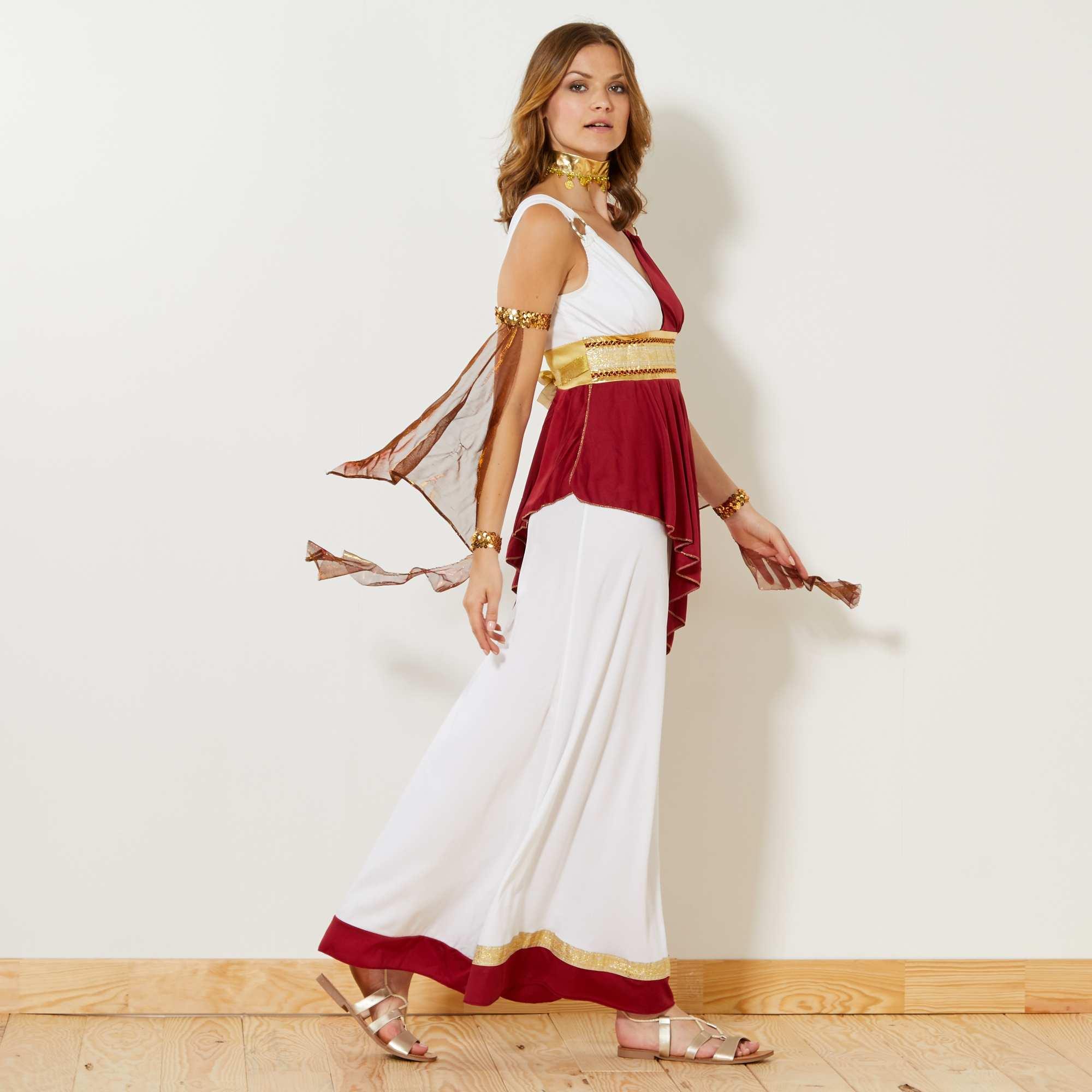 d00500d6f194 Costume imperatrice romana Donna - bianco rosso dorato - Kiabi - 29